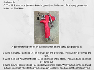 How to adjust your Spray Gun