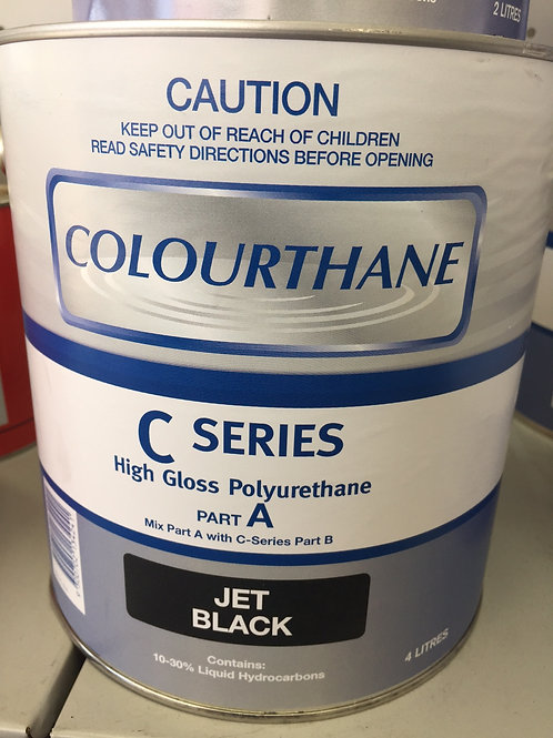 Colourthane Jet Black 2K 6lt Kit