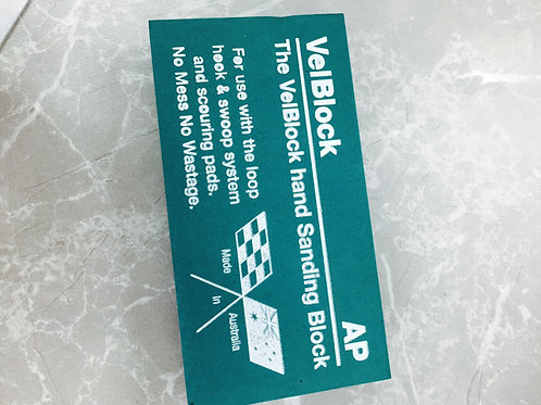 Amaxi AP Velblock Velcro Hook & Loop Sanding Block