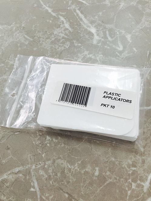 Plastic body filler applicator Packet of 10