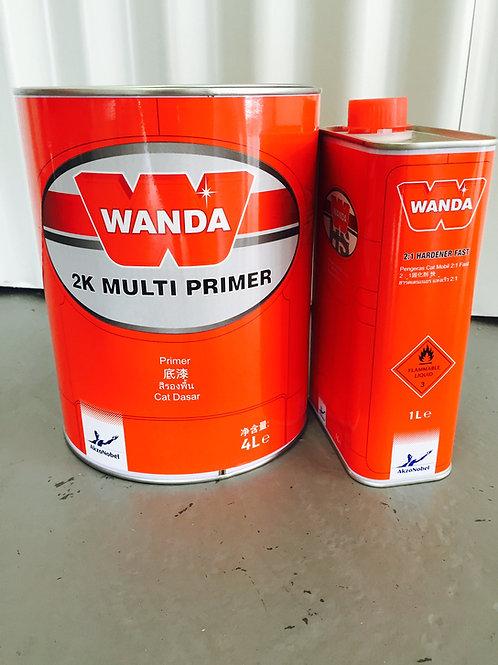 Wanda 2K Multi Primer 5L Paint & Hardener Kit