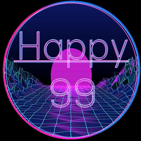 Happy 99 Event Circular Logo.png