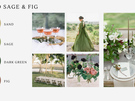 26 Wedding Color Palettes to Inspire You