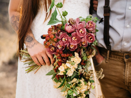 Smith Rock Elopement | Rachael Meader Floral and Event Design