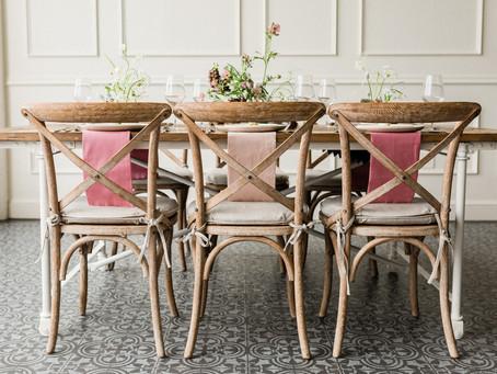 Modern Romantic Ikebana Editorial at Tendue   Rachael Meader Floral and Event Design