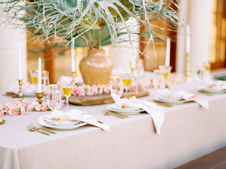 Del Mar Villa Tropical Wedding Editorial