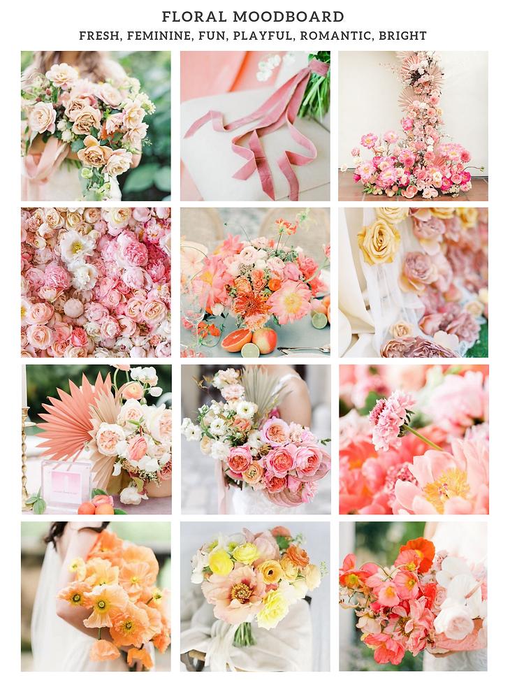 Floral Moodboard