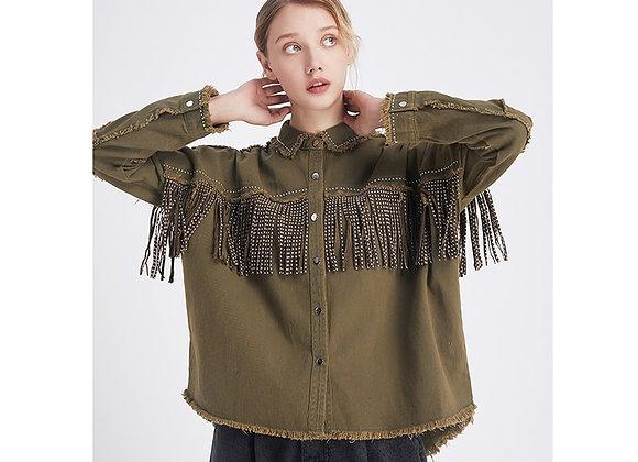 Fringe Loose Jacket