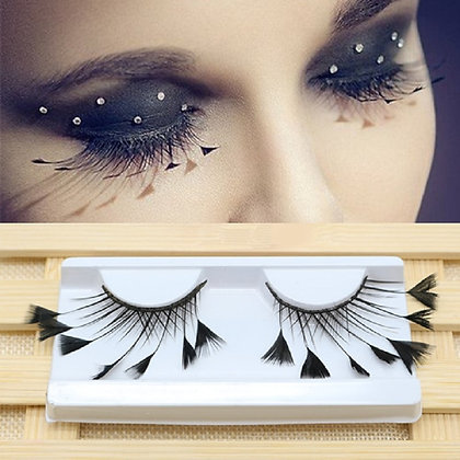 Feathers false eyelashes