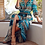 Thumbnail: Bohemian Hippie Style  3/4 Sleeve Maxi Dress