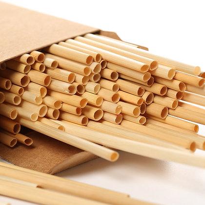 100pcs Wheat Eco Disposable Straw