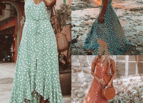 Summer Boho Maxi Dress