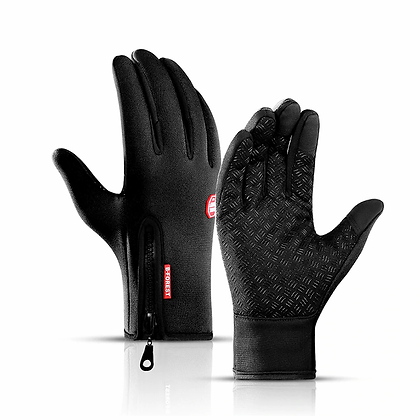 Touchscreen full finger men cycling gloves