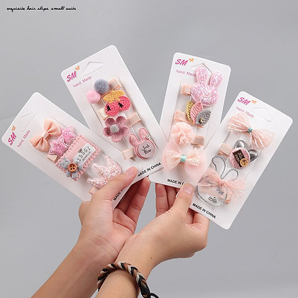 Kids  cute  hair clips for girls