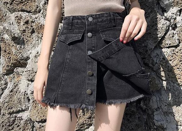Denim Short cum  Skirt