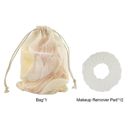 Reusable cotton pads make up  remover bamboo fiber