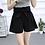 Thumbnail: Flare High Waist Bow Tie Style Shorts