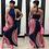Thumbnail: Designer Print Halter Maxi Dress