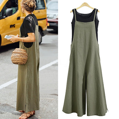 Easy to wear cotton jumpsuit