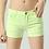 Thumbnail: Skinny Style Pastel Colour Shorts