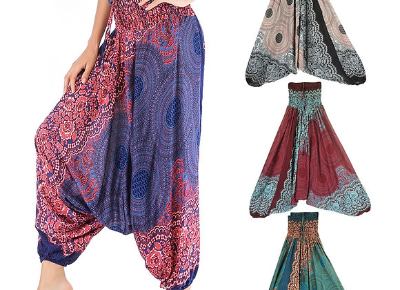 Bohemian Alladin Style Baggy Pant