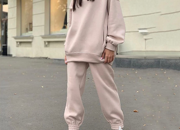Casual Tracksuit Two Piece Set
