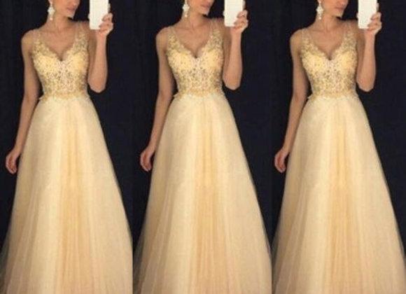 Formal Elegant Maxi Dress