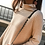 Thumbnail: Turtleneck Stretch Knitted Sweater
