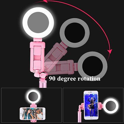 Live tripod selfie stick for smartphone