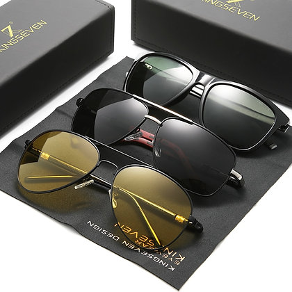 3pc pack fashionable polarised sunglasses for men
