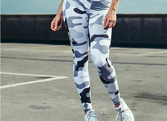 Camouflage Printed Female Fitness Leggings