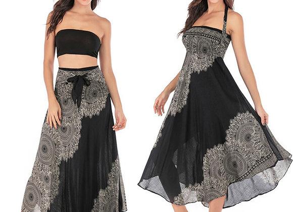 Boho Gypsy Halter Neck Style Dress