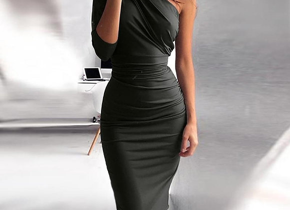Sexy One Shoulder Elegant Party Dress