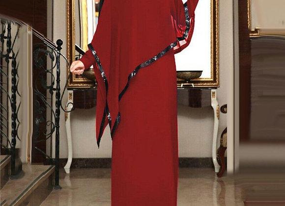Abaya Dress with Cape