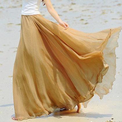 Sexy A-line long skirt