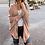 Thumbnail: Batwing Sleeve Long Cardigan