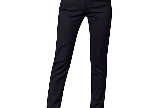 High Waist Skinny Office Pants