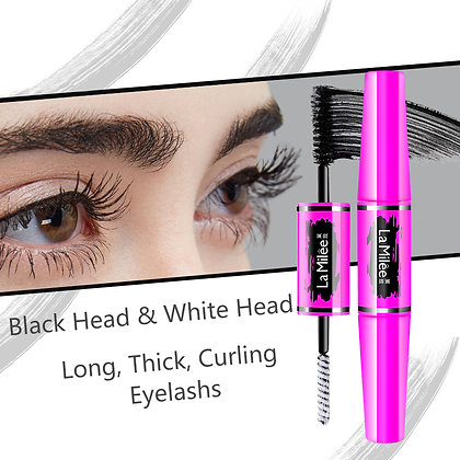 Double-heads waterproof long-lasting mascara