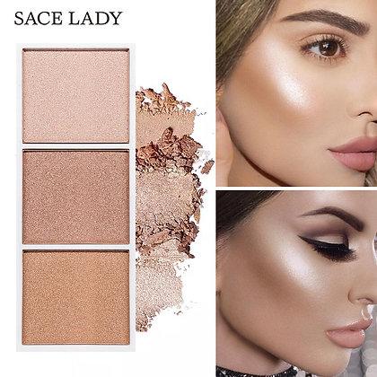 Highlighter contour palette