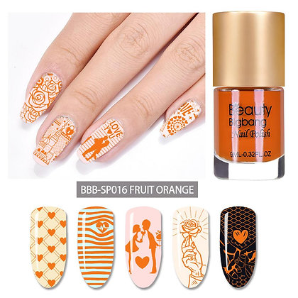 Colorful nail art  UV gel nail polish