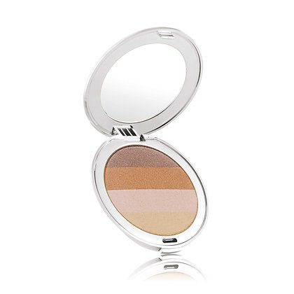 Jane Iredale Bronzer Moonglow - mit silbernen Compact Case