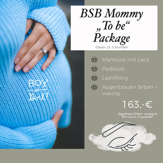 BSB Mommy to be Package