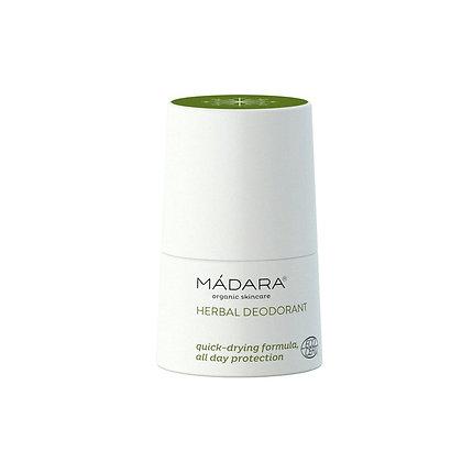 MÁDARA Herbal Deodorant, 50ml