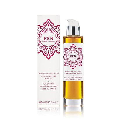 REN Moroccan Rose Otto Moisture Body Oil