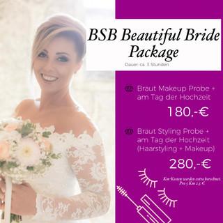 BSB Beautiful Bride Package