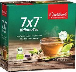 P. Jentschura 7x7 Kräuter Tee