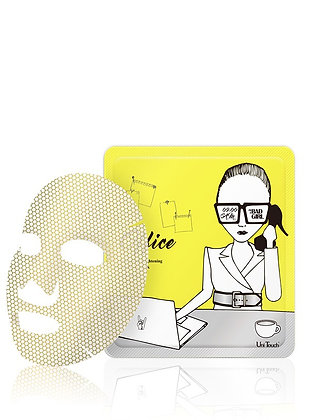 UNITOUCH  Energizing Gold Face Mask Office