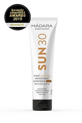 MÁDARA Antioxidant Sonnencreme Körper LSF30
