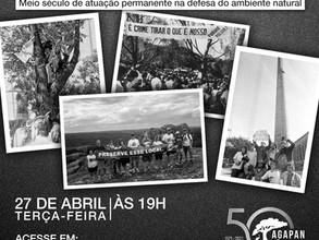 Agapan celebra 50 anos de lutas em defesa da proteção da vida no planeta