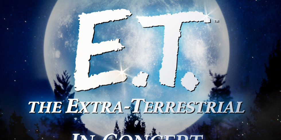 POPS! Series, E.T. THE EXTRA TERRESTRIAL FILM WITH LIVE ORCHESTRA